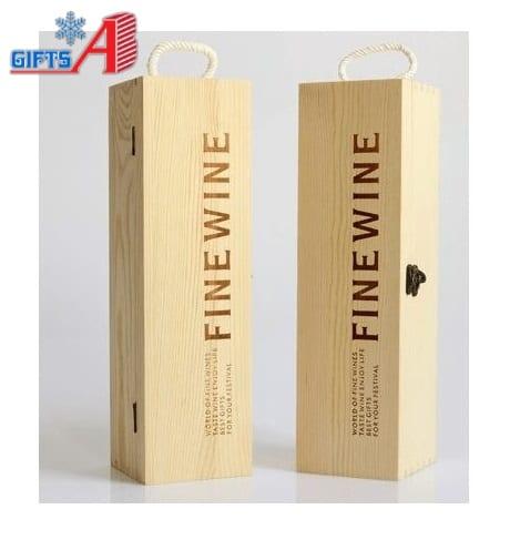 hộp rượu gỗ đơn B1-031