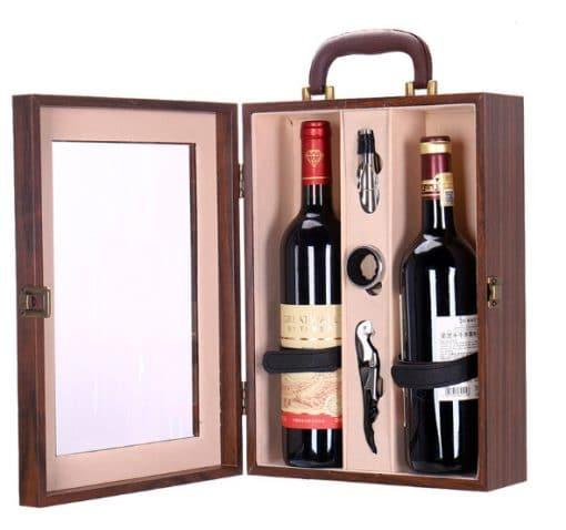 Hộp quà tặng kèm rượu vang 2