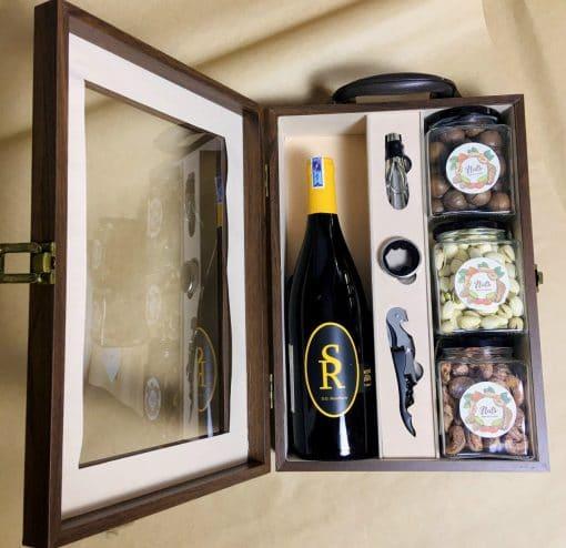 Hộp quà tặng kèm rượu vang 3