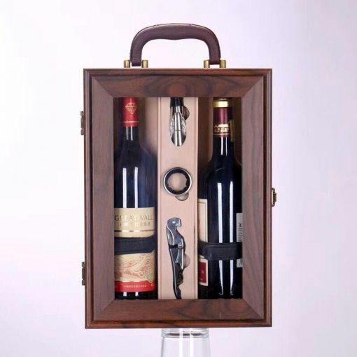 Hộp quà tặng kèm rượu vang